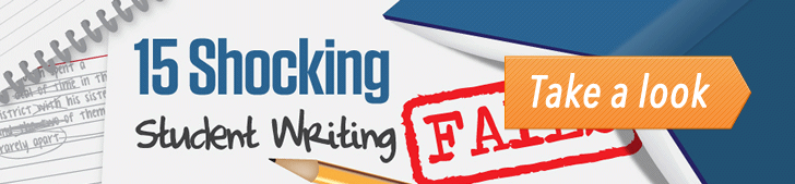 15 Shocking Student Writing Fails (Infographic) post image