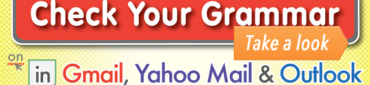 How to Check Your Grammar in Gmail, Yahoo Mail & Outlook (Infographic) post image