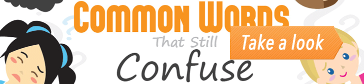 12 Common Words That Still Confuse Everyone (Infographic) post image