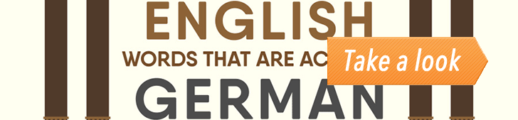 20 English Words That Are Actually German (Infographic) post image