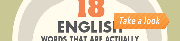 18 English Words That Are Actually Hindi (Infographic) post image