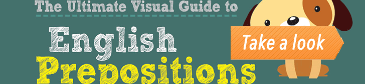 The Visual Guide to English Prepositions Part 1/2 (Infographic) post image