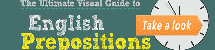 The Visual Guide to English Prepositions Part 2/2 (Infographic) post image