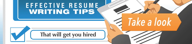 Effective Resume Writing Tips (Infographic) post image