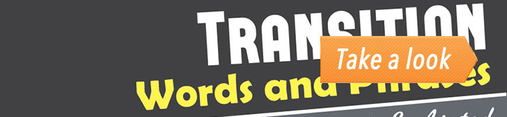 Transition Words and Phrases Explained & Listed (Infographic) post image