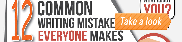 12 Common Writing Mistakes Everyone Makes (Infographic) post image