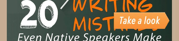 20 Writing Mistakes Even Native Speakers Make (Infographic) post image