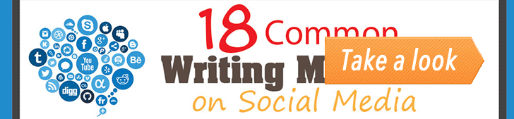18 Common Writing Mistakes on Social Media (Infographic) post image